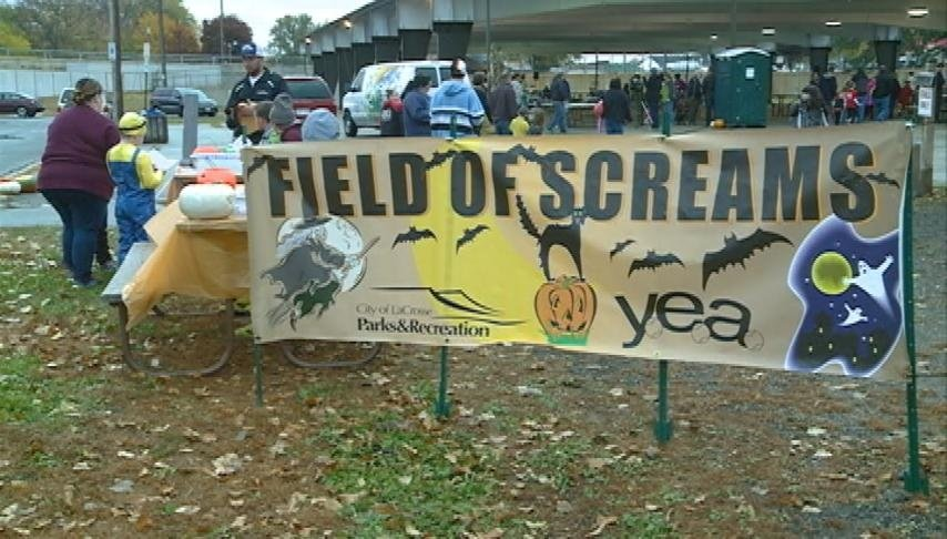 Kids celebrate Halloween early at 'Field of Screams'