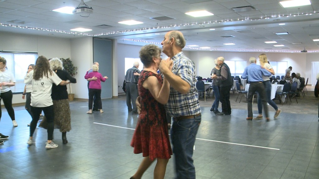 UWL students host dance for senior citizens