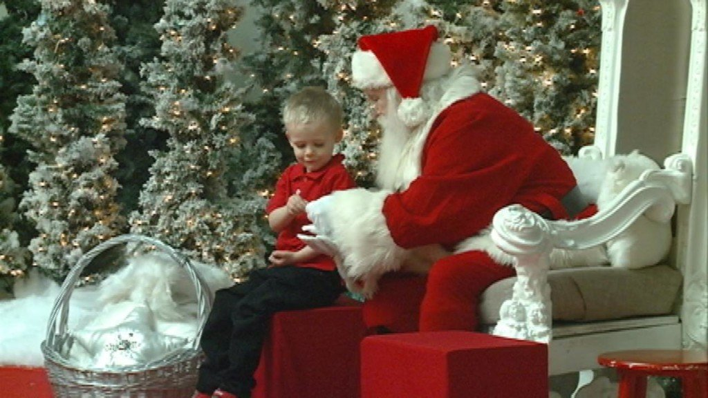 Local children with special needs get priceless gift from Santa