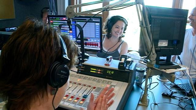 Sheri Lynch of 'Bob & Sheri' radio show visits La Crosse