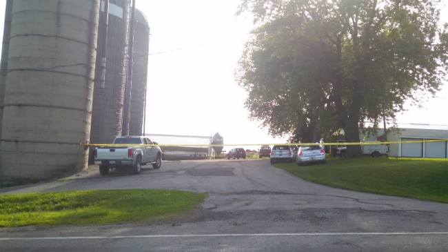 Man's body found in silo on farm in Dane County