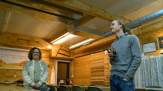 Westby business opens for traveling ski jumper