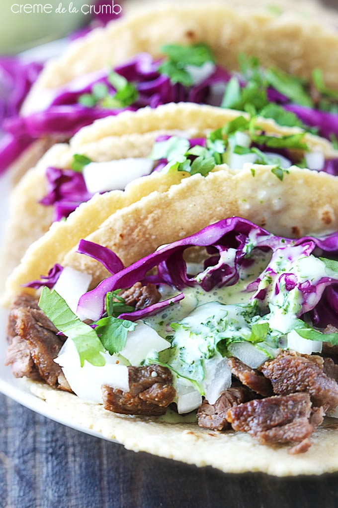 Skirt Steak Street Taco & One Pot Cheesy Taco Skillet Recipes