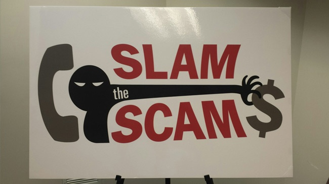 Xcel Energy tells customers to 'Slam the Scam'