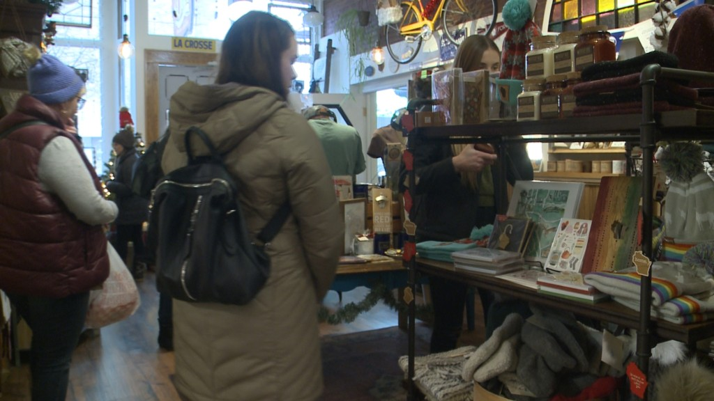 People are shopping local for Small Business Saturday