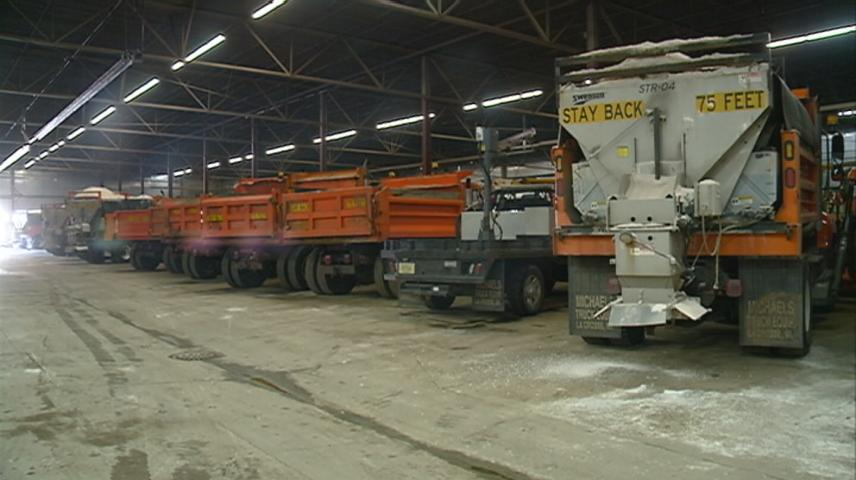 Plow crews preparing for another round of snow in La Crosse