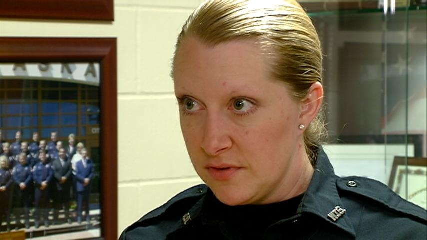 Police officer saves five, says she's not a hero