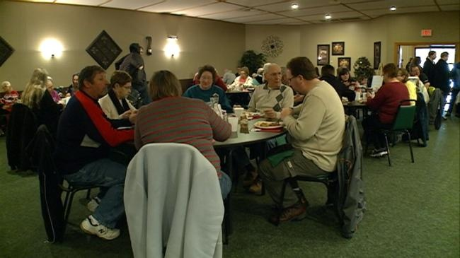 Sparta holds Christmas community dinner