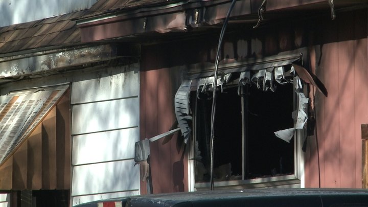 Two people, one paramedic injured during morning house fire in Sparta