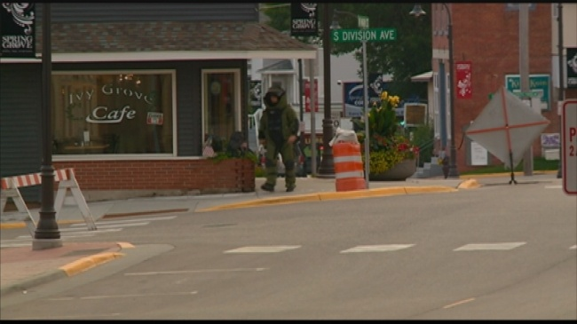 Downtown Spring Grove reopens following bomb threat