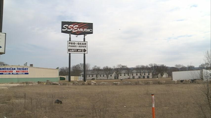 Local business' sign may be torn down