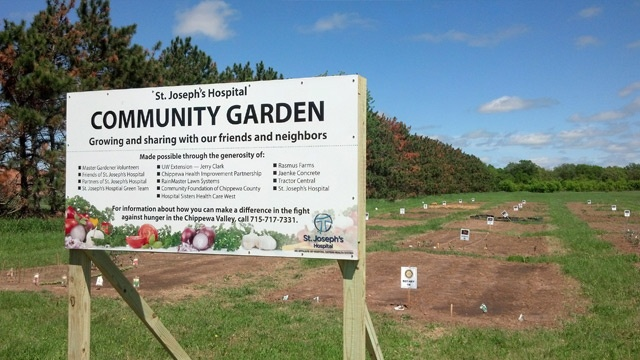 Area hospital offers garden plots to help those in need