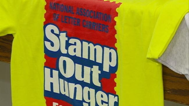 Letter carriers helping 'Stamp Out' hunger