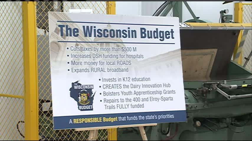 Wisconsin state budget in the hands of Gov. Evers