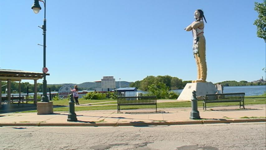 Hiawatha Statue in Riverside Park may be removed soon
