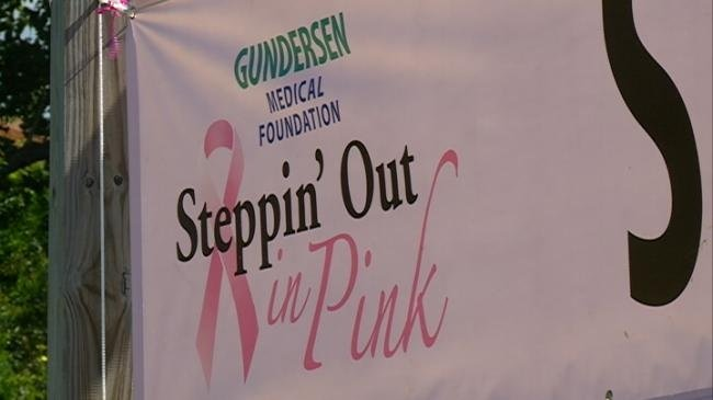Local breast cancer survivor knows benefits of Steppin' Out In Pink