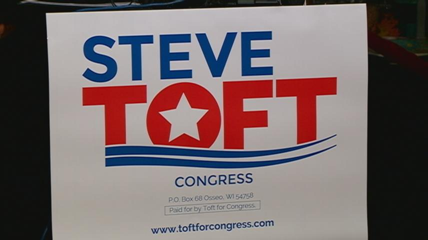 Steve Toft announces candidacy for Congress, stops in La Crosse