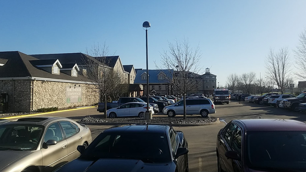 Firefighters respond to fire at Onalaska hotel