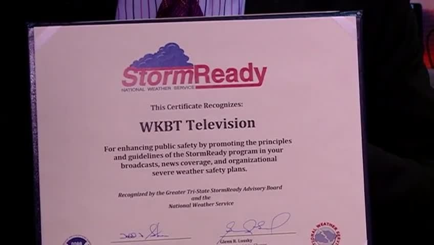 StormTeam 8 receives StormReady recognition