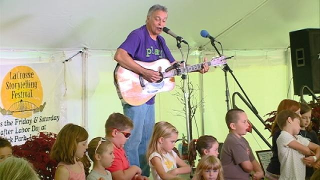 About a thousand people visit 12th annual Storytelling Festival