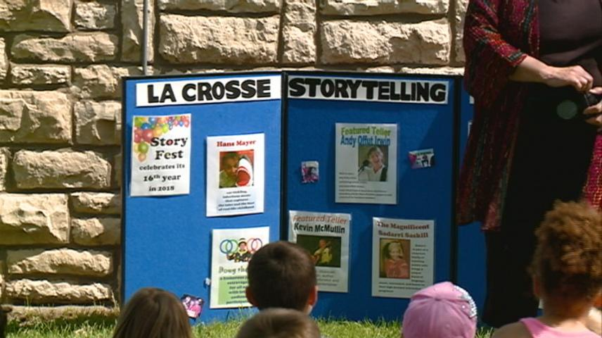 Storytelling in the Park lets students experience tradition