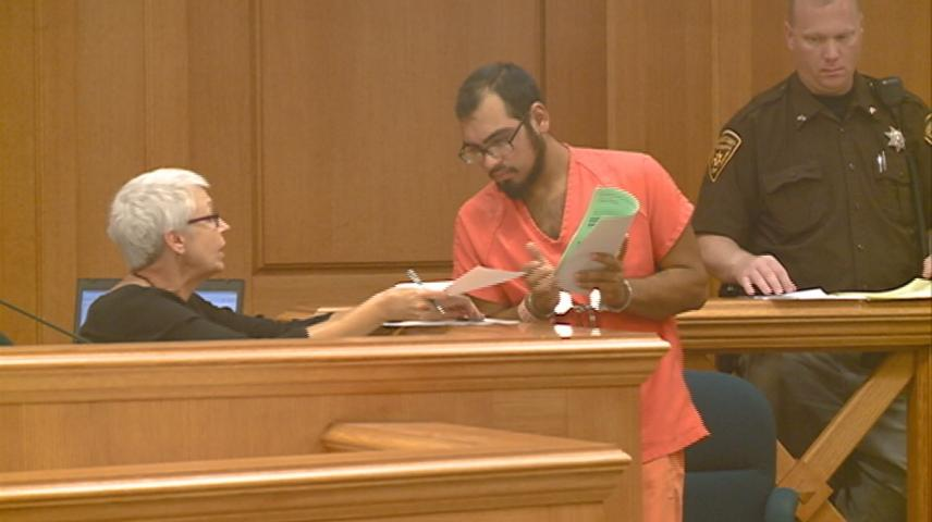 Suspect in home burglary appears in court