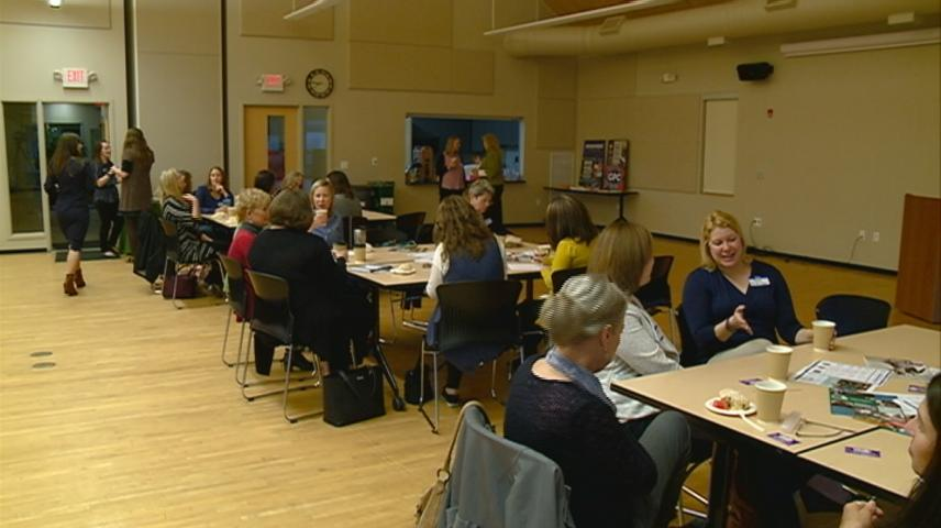 Female business owners connect over coffee as part of Community Development Week
