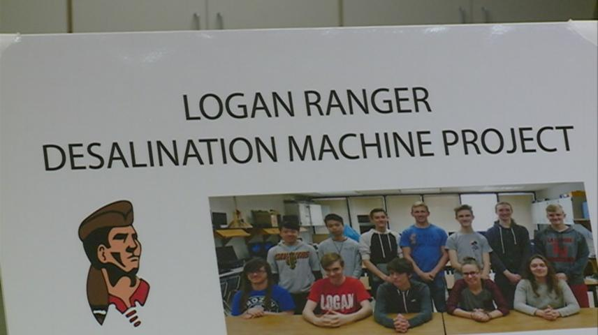 Logan High School students build machine to make water safe