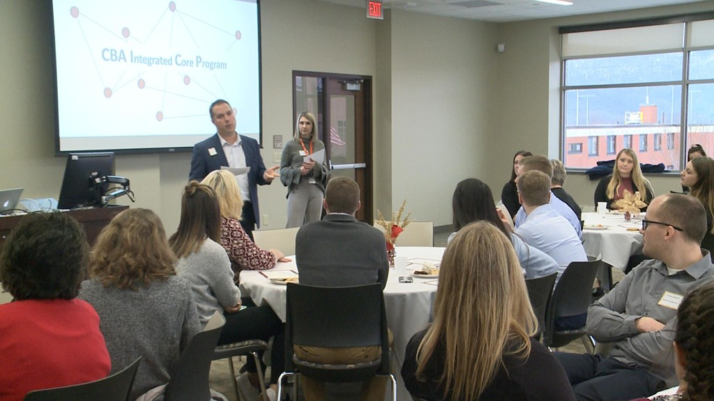 UW-La Crosse students surprised with scholarships and end of semester banquet