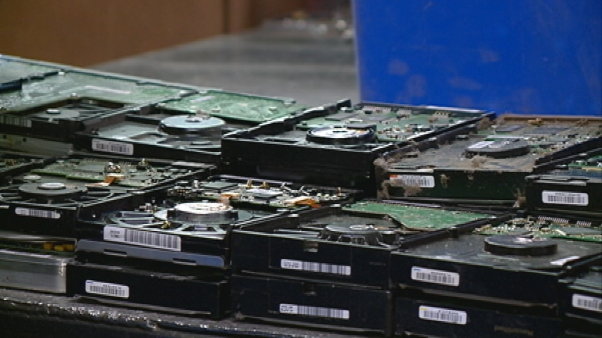 Recycling old electronics after the holidays
