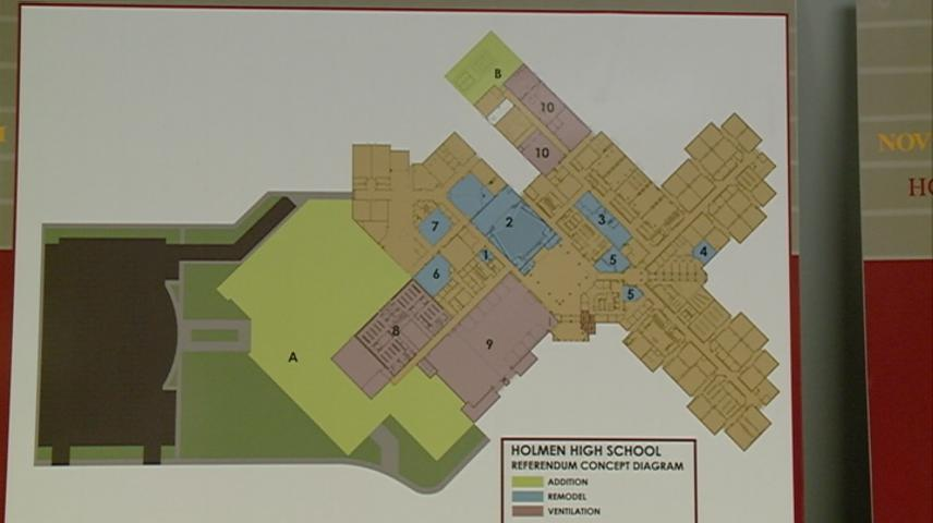Holmen referendum addresses expansion of high school