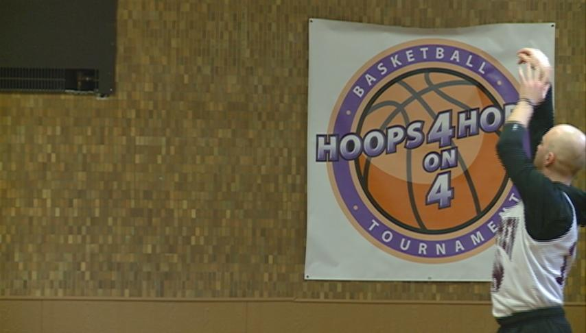 Local business raise domestic violence awareness with Hoops 4 Hope