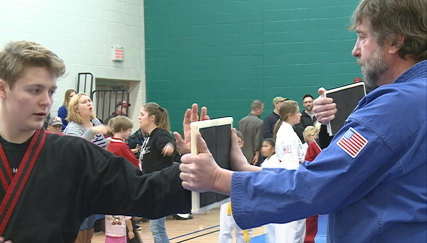 Local martial artists compete in tournament at YMCA