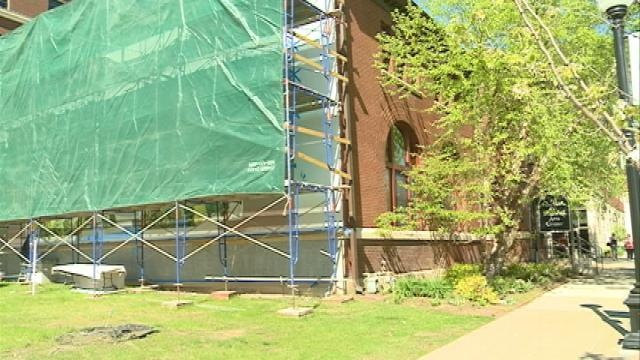 La Crosse mural almost ready for debut