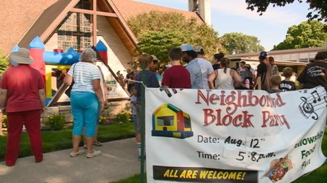 Northside block party helps children in need