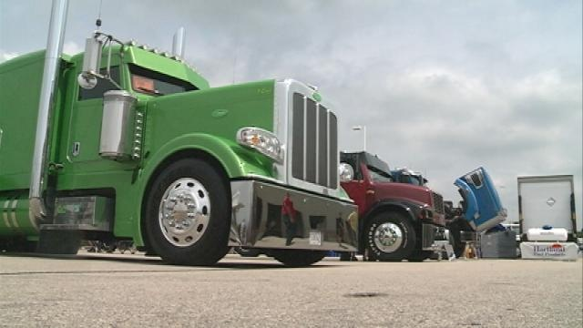 Truckers compete in Pride & Polish Truck Beauty Competition