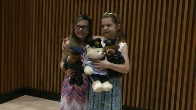 West Salem sisters honored by New York City's police commissioner