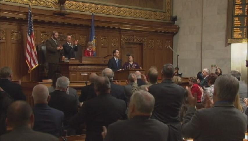 Gov. Walker delivers State of the State address