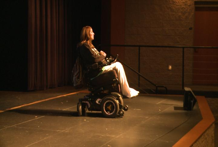 Motivational speaker visits school