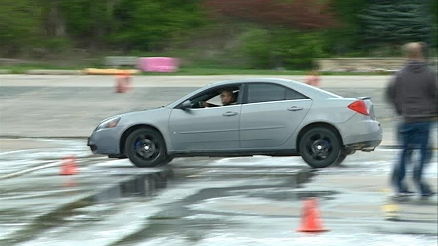 'Teen Car Control Clinic' offers experience for young drivers