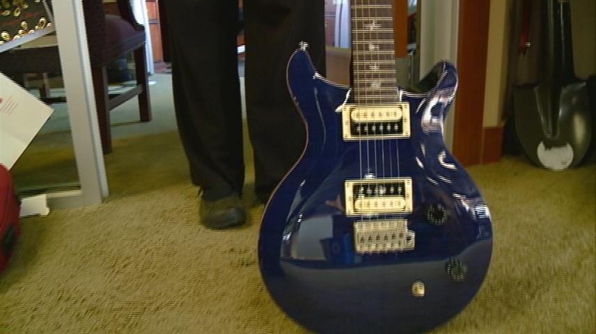 The guitar that will build a La Crosse home