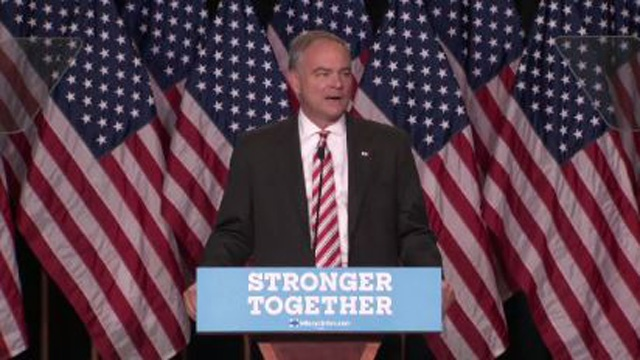 V.P. candidate Tim Kaine to campaign in La Crosse