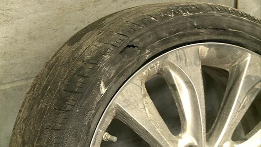 Winter has been particularly tough on car tires