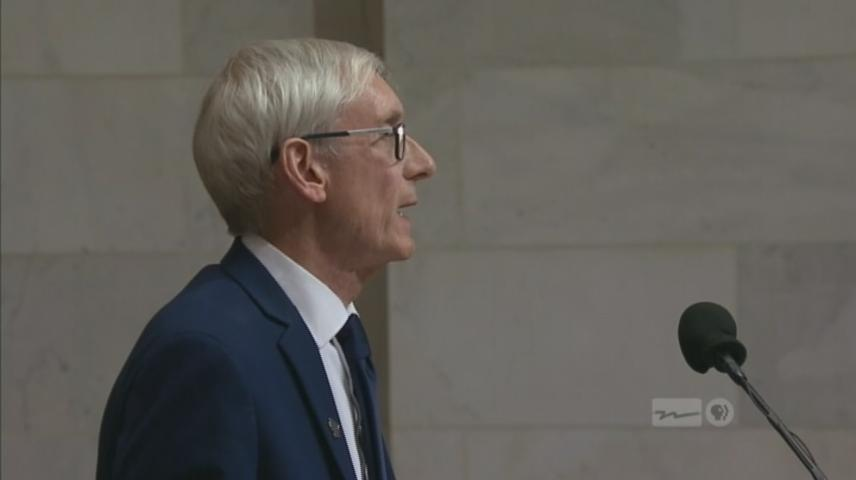 WI Gov. Tony Evers gives first State of the State address