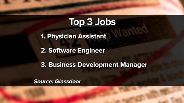 Employment website releases report on top 25 jobs in America