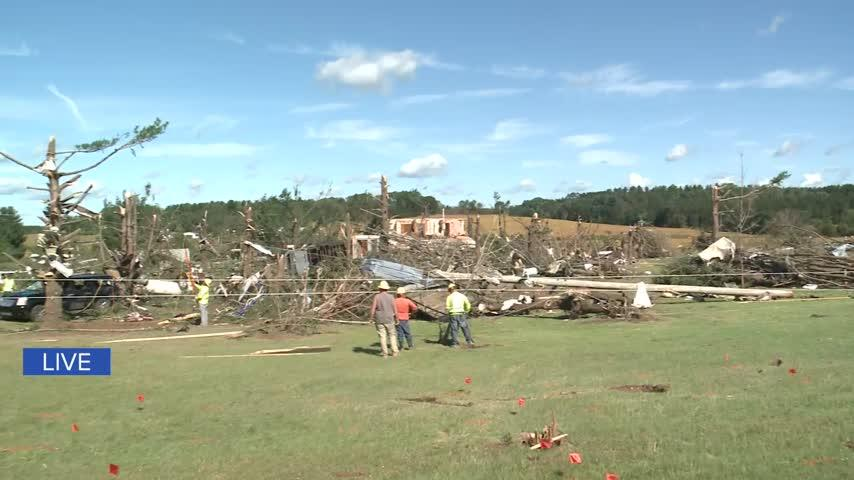 EF-3 tornado damages several homes in Dunn, Chippewa County