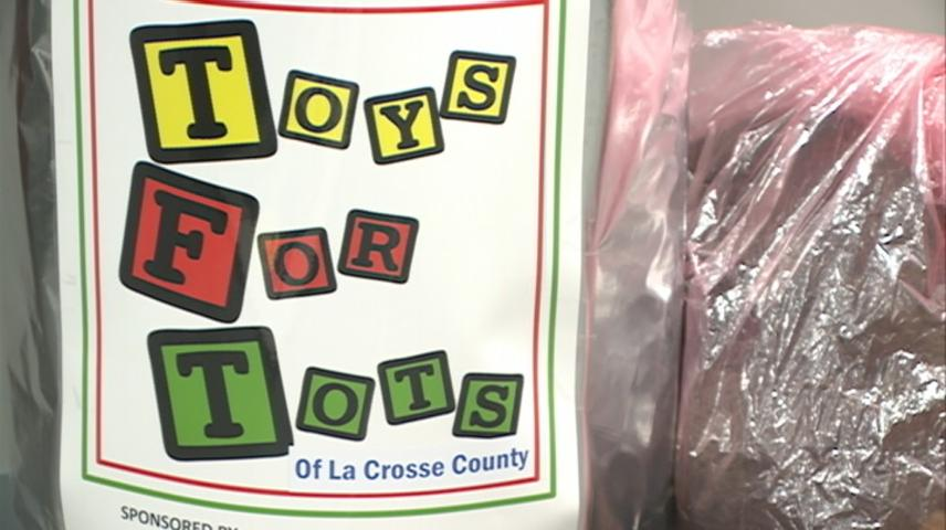 La Crosse Jaycee's Toys for Tots wraps-up soon