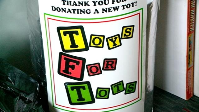 Toys for Tots goal met with a week to go