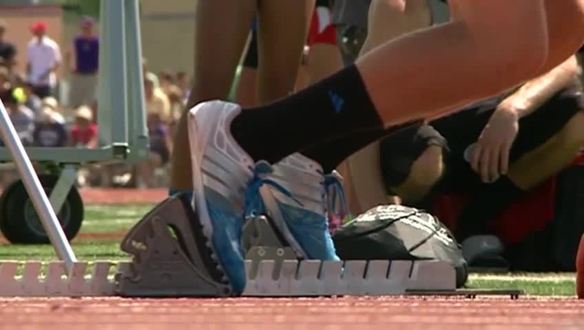 Hundreds compete in Wisconsin's state track meet