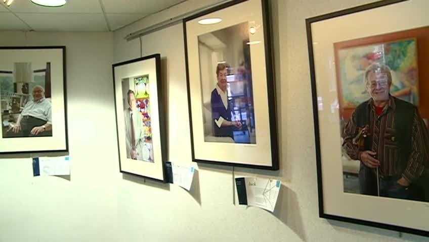 Showing the Holocaust in portraits at Viterbo University